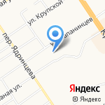 Клиника доктора Кулик на карте Барнаула