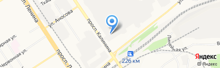 Сибмет на карте Барнаула