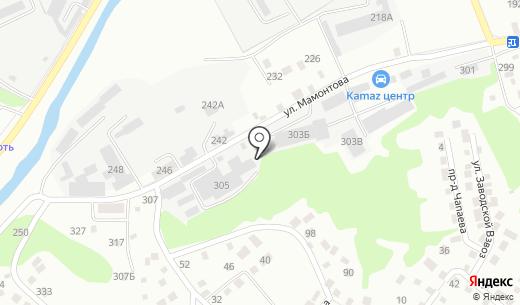 Угриничъ. Схема проезда в Барнауле