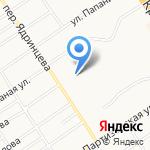 Мастерская по ремонту и пошиву одежды на карте Барнаула