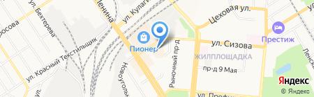 Магазин женской одежды на карте Барнаула