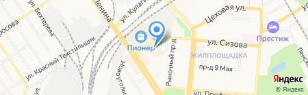 Vis-a-vis на карте Барнаула