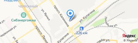 Закусочная на карте Барнаула