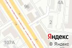 Схема проезда до компании Принцесса в Барнауле