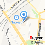 Салон нижнего белья на карте Барнаула