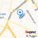 Дана-Дент на карте Барнаула