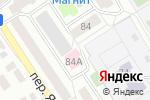 Схема проезда до компании Интервал в Барнауле