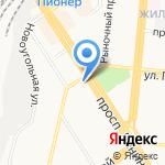 Askona Fitness на карте Барнаула