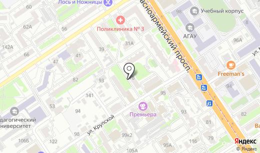 BEERLIN. Схема проезда в Барнауле