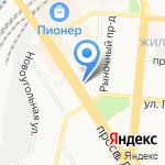 Принцесса на карте Барнаула