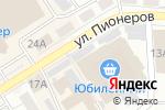 Схема проезда до компании Ювелирная лавка в Барнауле