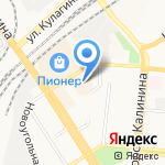 Алтайская на карте Барнаула