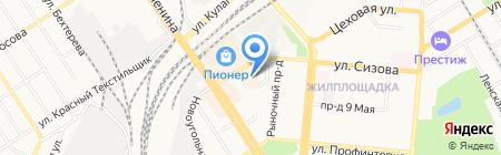 РСМ на карте Барнаула