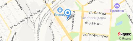 А КЛИНИНГ на карте Барнаула