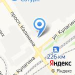 СИБИРЬАВТОЦЕНТР на карте Барнаула