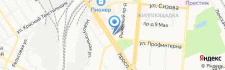 Профтехперевод на карте Барнаула