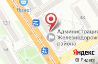 Схема проезда до компании Теремок в Кижеватово