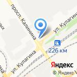 Торговый дизайн на карте Барнаула