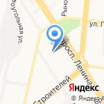Средняя общеобразовательная школа №103 на карте Барнаула