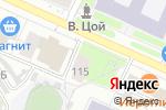Схема проезда до компании Пятница в Барнауле