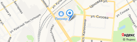 KEY-FAST на карте Барнаула