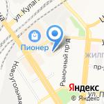 KEYFAST на карте Барнаула