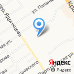 АВИТА на карте Барнаула