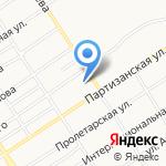 Баня №5 на карте Барнаула