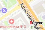 Схема проезда до компании Акцент в Барнауле
