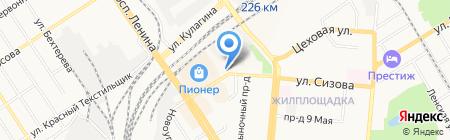 Наташенька на карте Барнаула