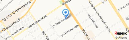 Премьера на карте Барнаула