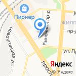 Верхнеобьрыбвод на карте Барнаула