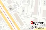Схема проезда до компании Верхнеобьрыбвод в Барнауле