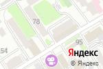 Схема проезда до компании Гармония в Барнауле