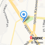 ГРИН-СЕРВИС на карте Барнаула