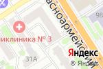Схема проезда до компании Лилия в Барнауле
