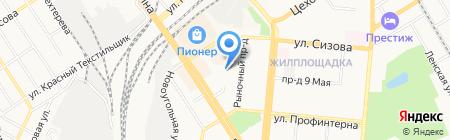 На Новом на карте Барнаула