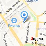 Обувной магазин на карте Барнаула