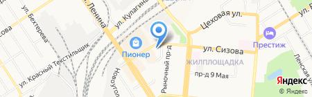 Планета Sтерео на карте Барнаула