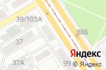 Схема проезда до компании Исток - Сибирские пуховые товары в Барнауле