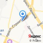 Оригинал на карте Барнаула