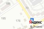 Схема проезда до компании Раффи в Барнауле