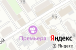 Схема проезда до компании Фонд социального страхования РФ в Барнауле
