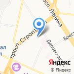 СМР на карте Барнаула