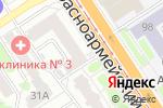 Схема проезда до компании Кондитерский магазин в Барнауле