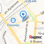 Розмарин на карте Барнаула