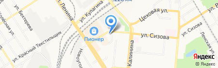 У Мартына на карте Барнаула