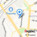Изобилие на карте Барнаула