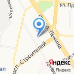 Персональная творческая мастерская архитектора М.И. Шмидта на карте Барнаула