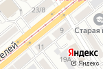 Схема проезда до компании Фасон в Барнауле